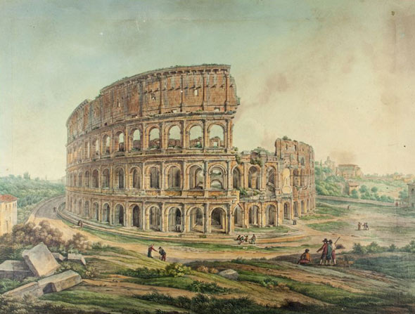 colosseo stampa